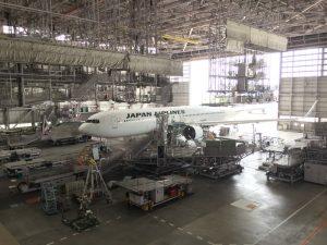 日本航空 見学