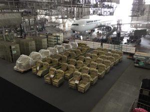 JALの整備工場見学