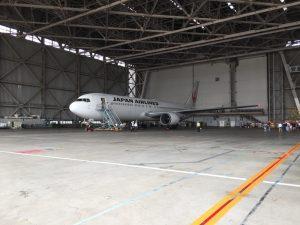 日本航空整備工場