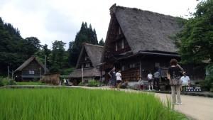 五箇山の菅沼集落