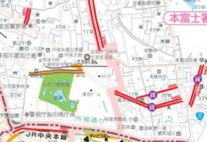 東京ドーム近くの60分パーキングメーター
